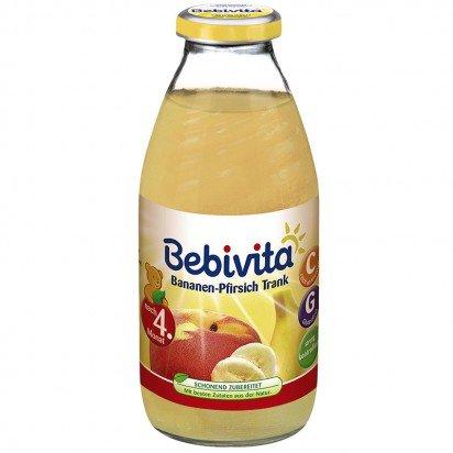 Bebivita Бебешка Напитка от банани, праскови и ябълка 200мл.